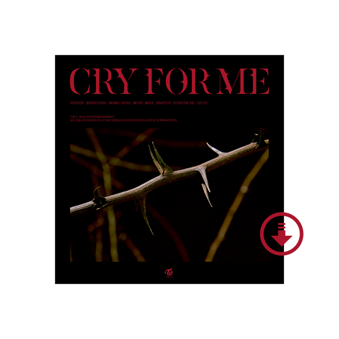 Cry For Me Digital Single
