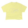 TWICE TONAL CROP T-SHIRT