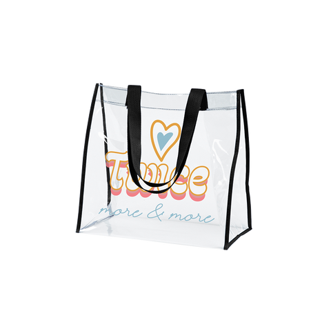 MORE & MORE CLEAR TOTE