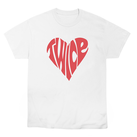 TWICE HEART T-SHIRT