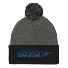 Load image into Gallery viewer, Aerodyme Technologies | Pom Pom Knit Cap