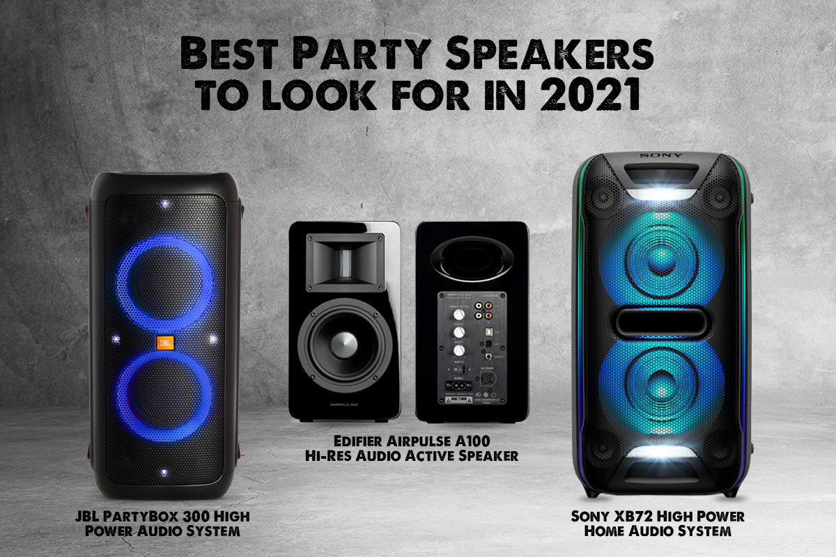 Top Best party speakers for 2021