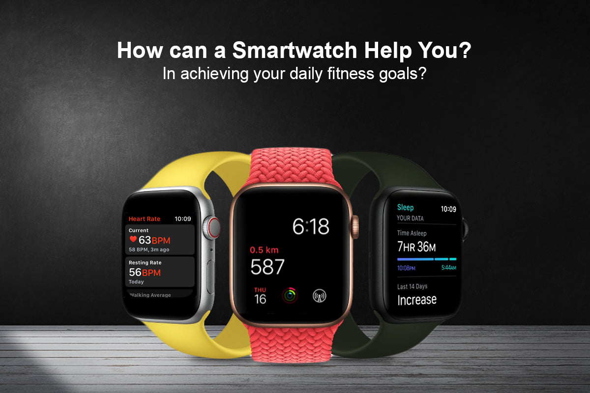 Key features of smartwatch that helps you to keep your fitness record