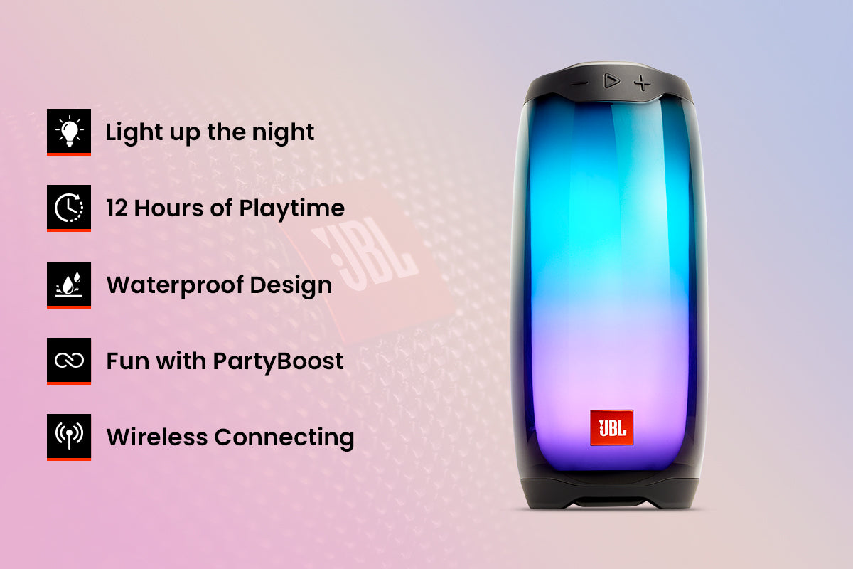 Specification and features of JBL Pulse 4