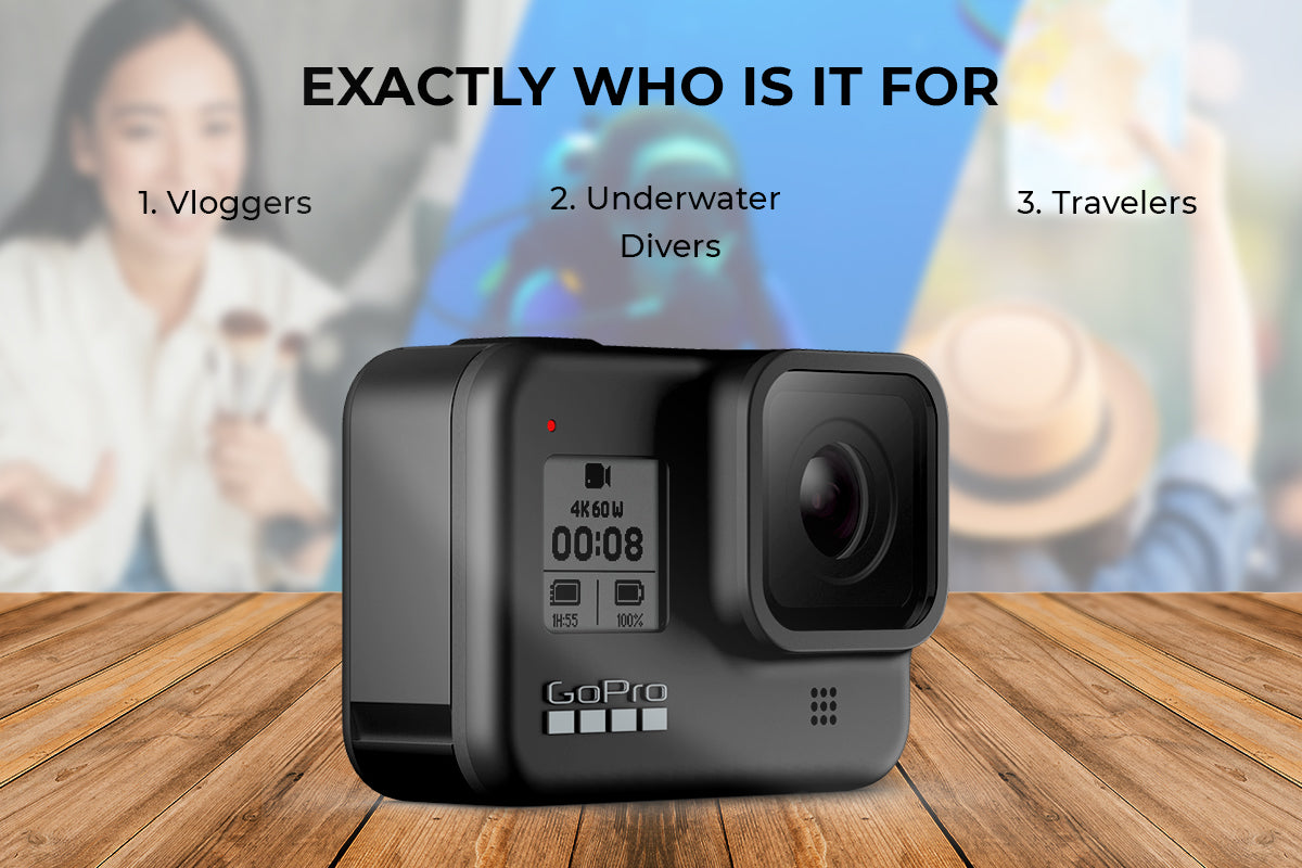 Action camera users