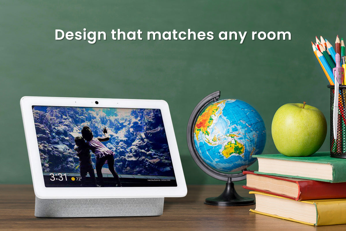 Google nest hub has a design that matches with every room