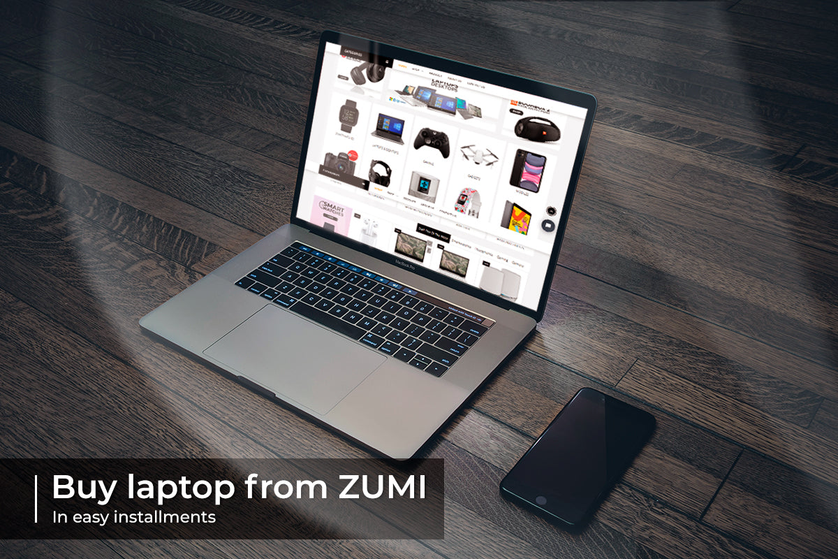 Buy laptop from zumi in easy instalment