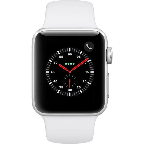 Apple Watch Series 3 38mm GPS + Cellular (Silver+White)