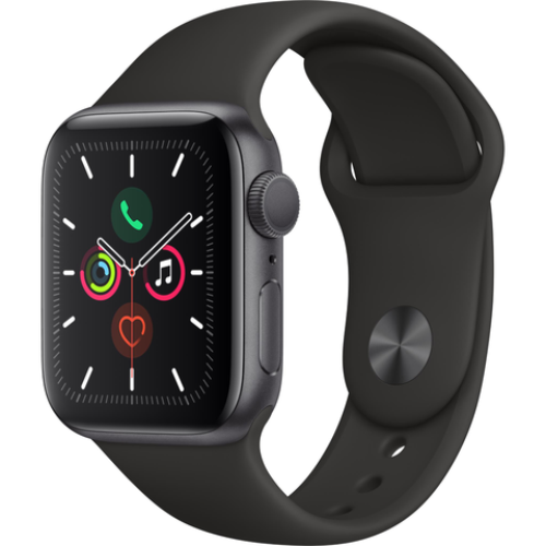 Apple Watch Series 5 40mm Space Grey Aluminum Case GPS