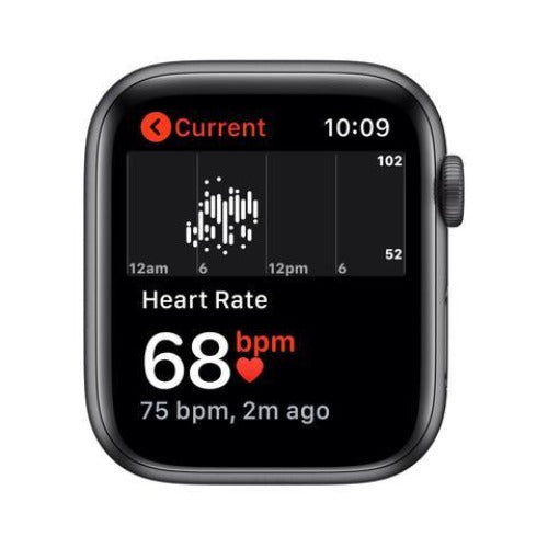 Apple Watch Series 5 44mm Space Grey Aluminum Case GPS