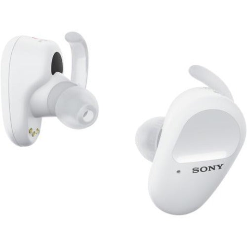 Sony WF-SP800N Truly Wireless Sports Headphones (White)