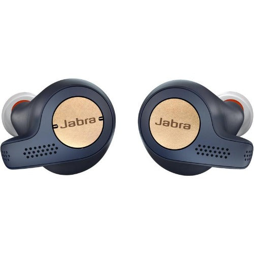 Jabra Elite Active 65t True Wireless Earbuds (Copper Blue) Front