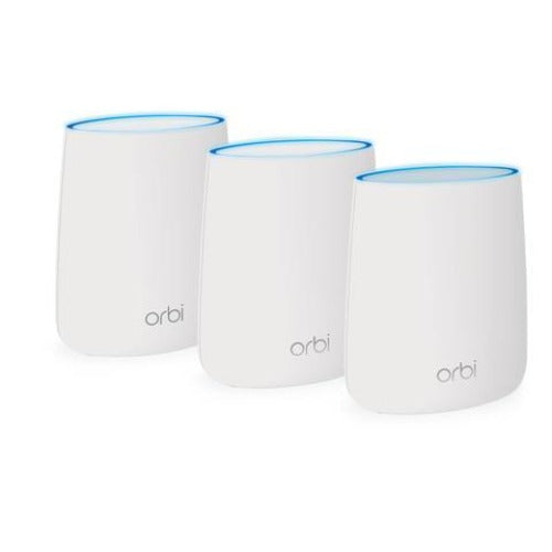Netgear Orbi RBK23 Whole Home AC2200 Tri-band Mesh WiFi System (3 Pack)