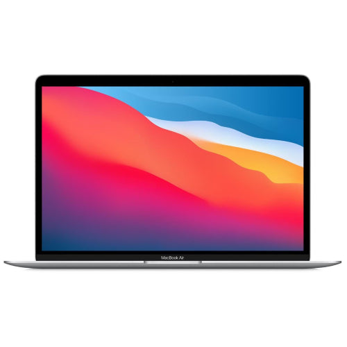 Apple-MacBook-Air-13-inch-with-M1-chip,-8-core-CPU-and-8-core-GPU,-512GB-SSD-(Silver)-[2020]-Front