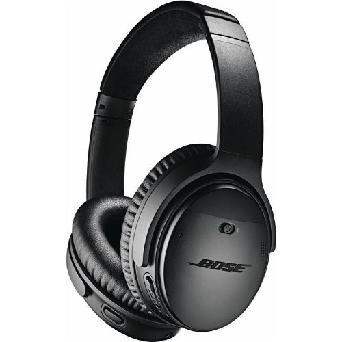 Bose QuietComfort 35 II Wireless Over-Ear Headphones (Black) Tilted