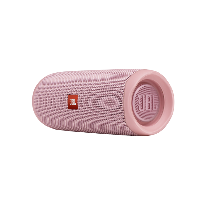 JBL Flip 5 Portable Bluetooth Speaker (Pink)