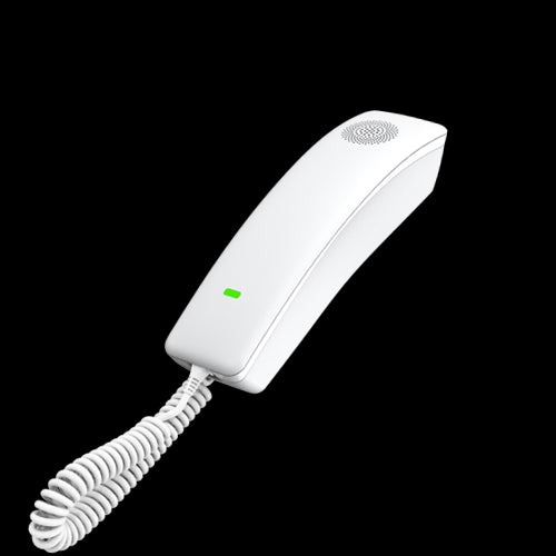 Fanvil H2U Compact IP Phone, 2 SIP Lines, HD Audio, Desk/Wall Mount, 10 Speed Dial Keys, PoE, 3 Way Conference, 2 Year Warranty - White Front