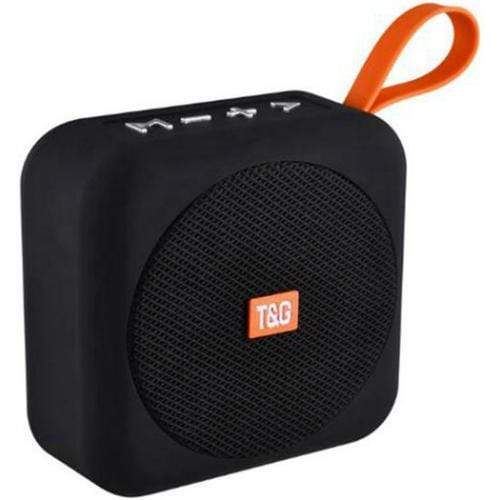 T-&-G-TG505-Portable-Bluetooth-Speaker-Black-Front
