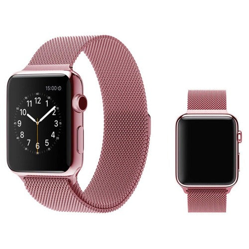 Apple Watch Chameleon Rose Gold Milanese Loop (40mm/38mm)