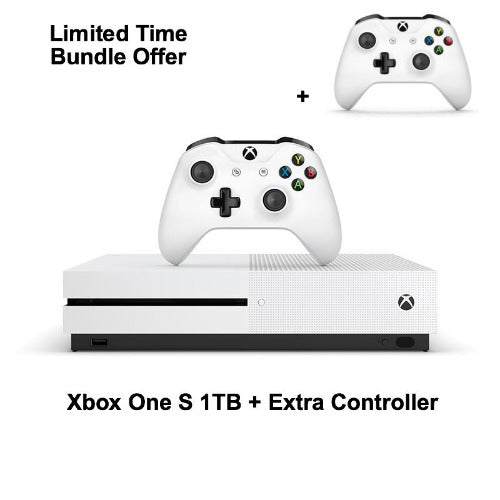 Xbox One S 1TB & Extra Controller