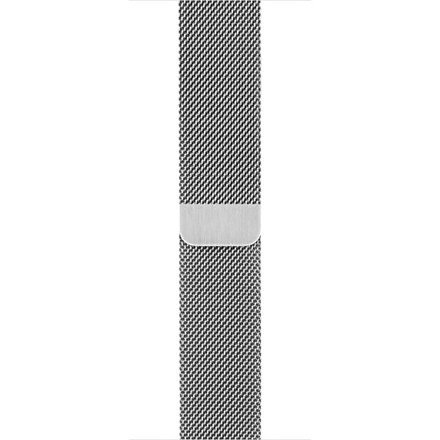 Milanese Style Band For Apple Watch Series  (Silver)