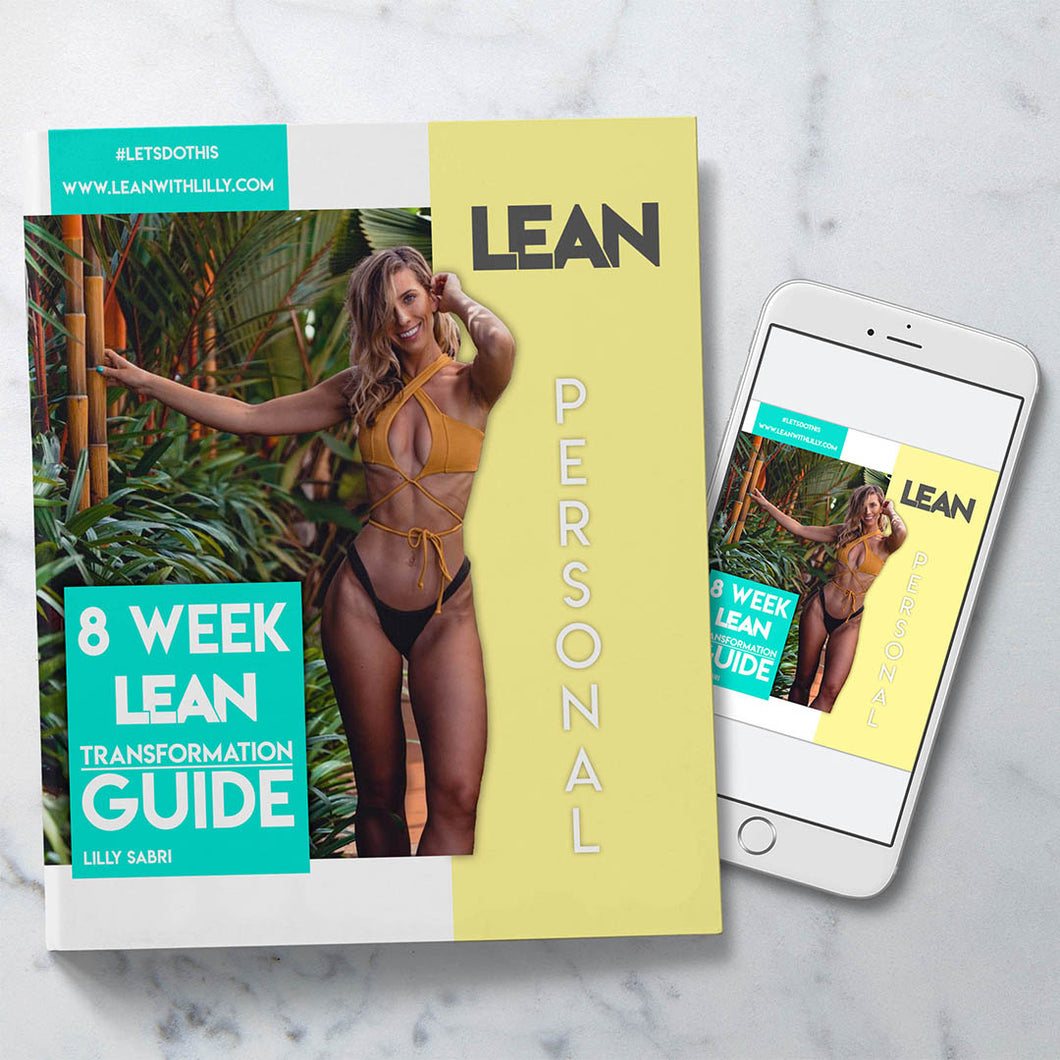 PERSONAL 8 Week LEAN Transformation Guide