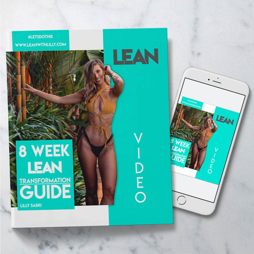 8 Week LEAN Transformation Guide. Home workout guide and program.