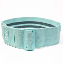 Load image into Gallery viewer, LEAN Adjustable Resistance Band. Fabric band perfect fojur different intensities of your workouts - simply adst the band to increase or decrease the resistance.