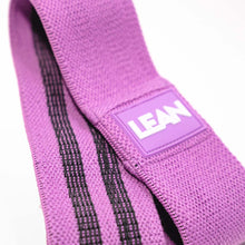 Load image into Gallery viewer, LEAN HIIT Resistance Band. Fabric band for that added extra burn to fast-paced HIIT workouts.