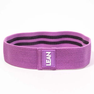 LEAN HIIT Resistance Band. Fabric band for that added extra burn to fast-paced HIIT workouts.