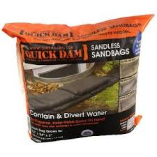 Quick Dams, Sandless Sandbags (6 Pack)