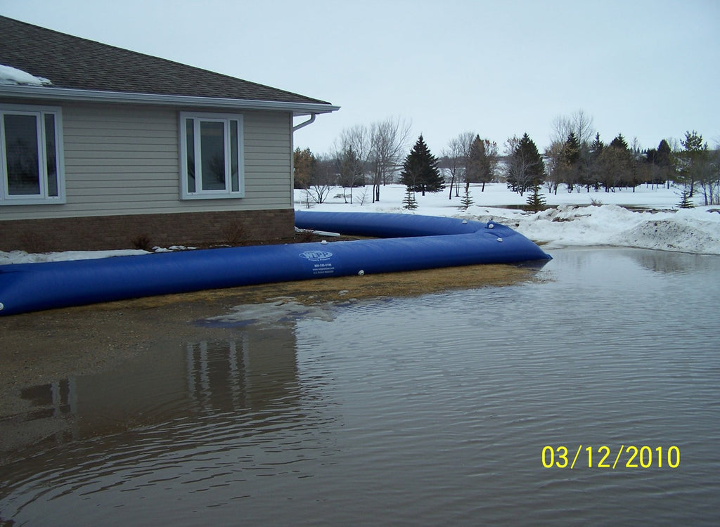 Water Inflated Flood Barriers For Residential And Commercial Use Praetorian Disaster Supply