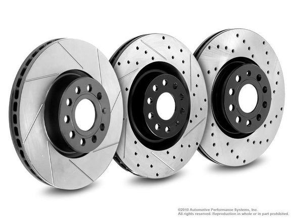 NEUSPEED Replacement Brake Rotors - Rear (256mm)