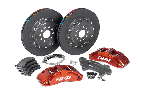 APR 380x34mm 6-Piston Big Brake Kit (Red) - Audi 8V RS3