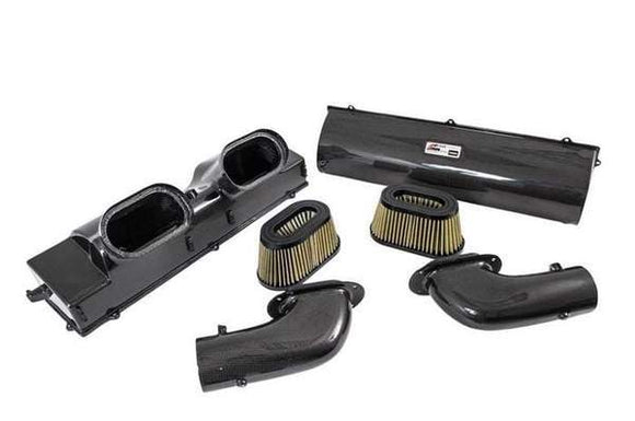 AWE S-Flo Carbon Intake - 991 Turbo/S