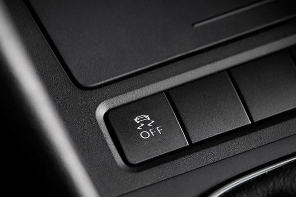 Traction Control Button Kit (w/ Keyless) - MK6 Jetta