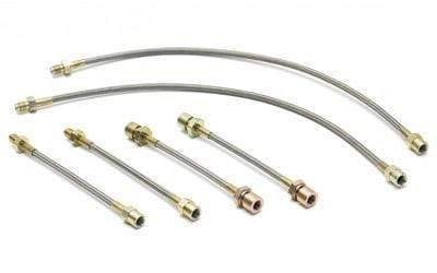 Neuspeed Stainless Steel Brake Lines (6-pc) | Mk3 2.0L w/Rear Dis