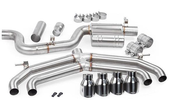 APR Race Catback Exhaust System - MK7 Golf R 2.0TFSI