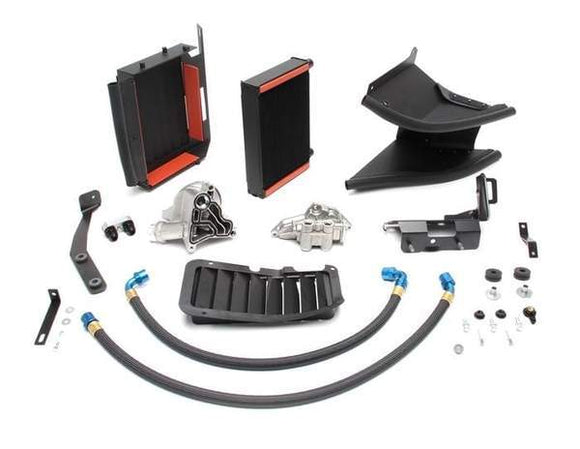 Dinan High Capacity Oil Cooler System for BMW | E90 | 335i (w/o Factory OC & w/ Std. Bumper)