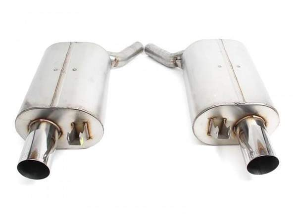 Dinan Free Flow Axle-Back Exhaust for BMW | E6X | 645Ci | N62