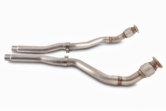 AWE Touring Edition Exhaust w/ Dual Outlet Chrome Tips - Audi 8R / B8 Q5 3.0T