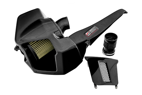 AWE AirGate Carbon Intake w/ Lid - Audi B9 S4 / S5 / RS4 / RS5