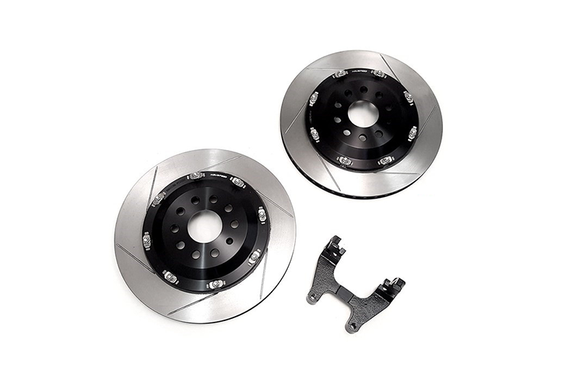 NEUSPEED 350mm Floating Rear Rotor Kit MQB AWD
