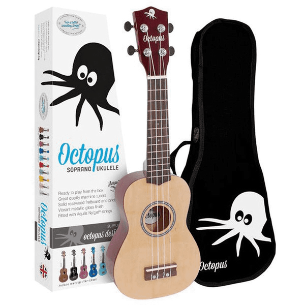 Ukelele Octopus Soprano UK-200YN Natural