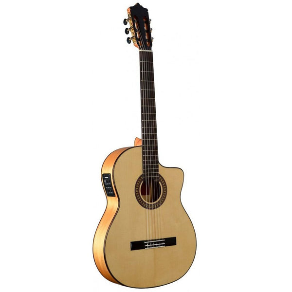 Guitarra Flamenca Martinez modelo MFG-AS Cut EF EQ + Fishman PSY-301