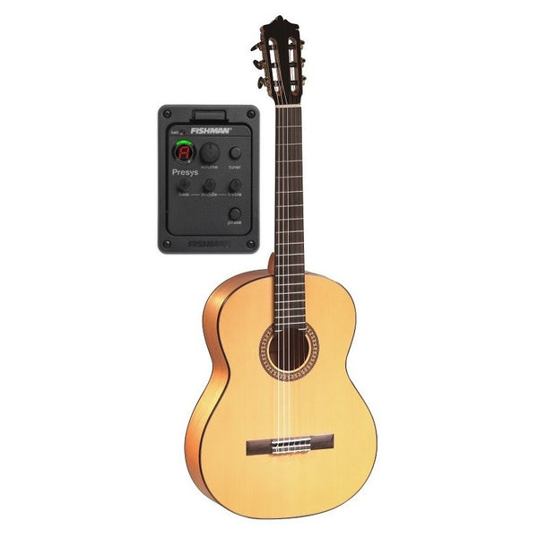 Guitarra Flamenca Martinez modelo MTZ MFG-AS EF EQ