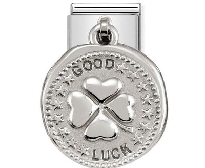 331804-07  CHARMS WISHES   07 GOOD LUCK - R. Mc Cullagh Jewellers