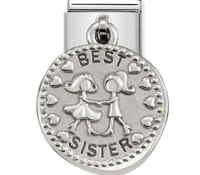 331804-14  CHARMS WISHES   14 BEST SISTER - R. Mc Cullagh Jewellers