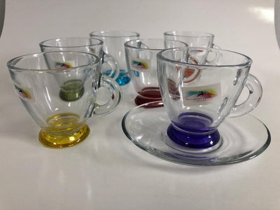 KILLARNEY CRYSTAL Jewel Espresso cup x6 - R. Mc Cullagh Jewellers