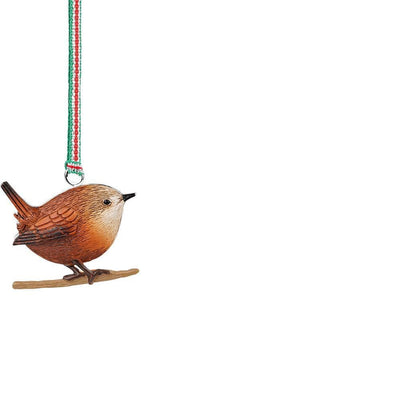 Christmas Wren Hanging Decoration - R. Mc Cullagh Jewellers